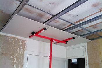 Plaque de plâtre plafond