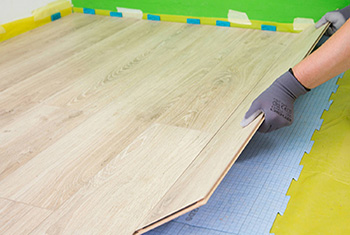 Pose parquet clipsable